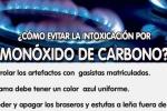 Campaña de prevención de accidentes por inhalación de monóxido de carbono