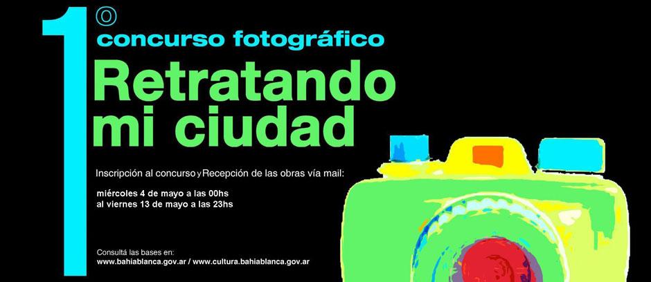 """Concurso fotográfico """"Retratando mi ciudad"""""""